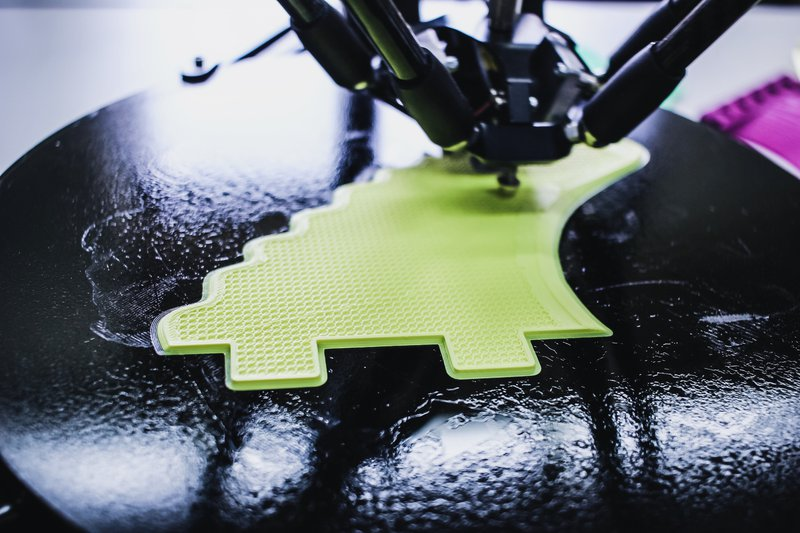 Close up 3D printer